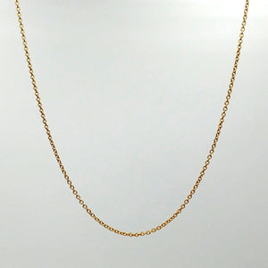 "Gold Filled Chain 20"" - The Jade Store"