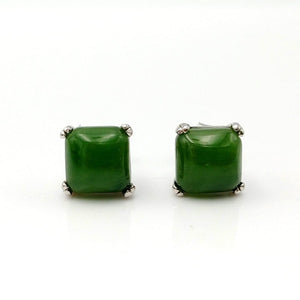 Jade Earrings Square - The Jade Store