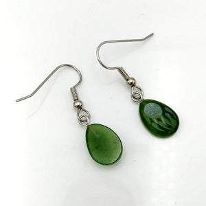 Jade Earrings - Bear Paws - The Jade Store