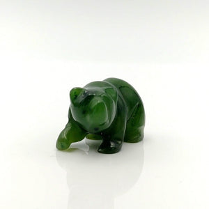 "Jade Bear - 1"" Walking Grizzly - The Jade Store"
