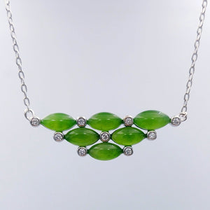 Jade Pendant - Mini Bib - The Jade Store