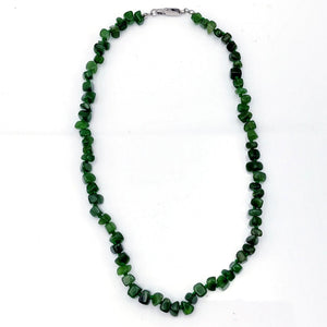 Jade Necklace - Natural Jade Chip with Clasp - The Jade Store