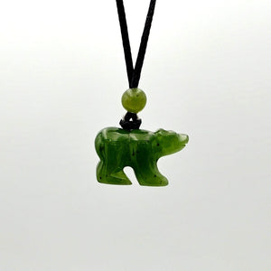 Jade Pendant - Bear - The Jade Store