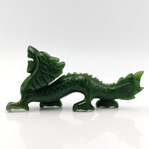 "Jade Dragon Carving - 5"" - The Jade Store"