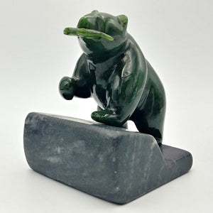 "Jade Bear on Base - 4"" - The Jade Store"