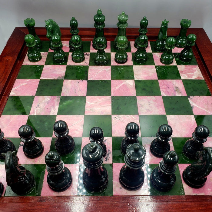 Jade Chess Set