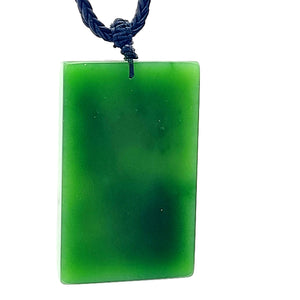 Jade Pendant - Dragon in Bas Relief - The Jade Store