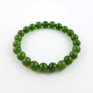 Jade Bracelet – 8mm Bead - The Jade Store