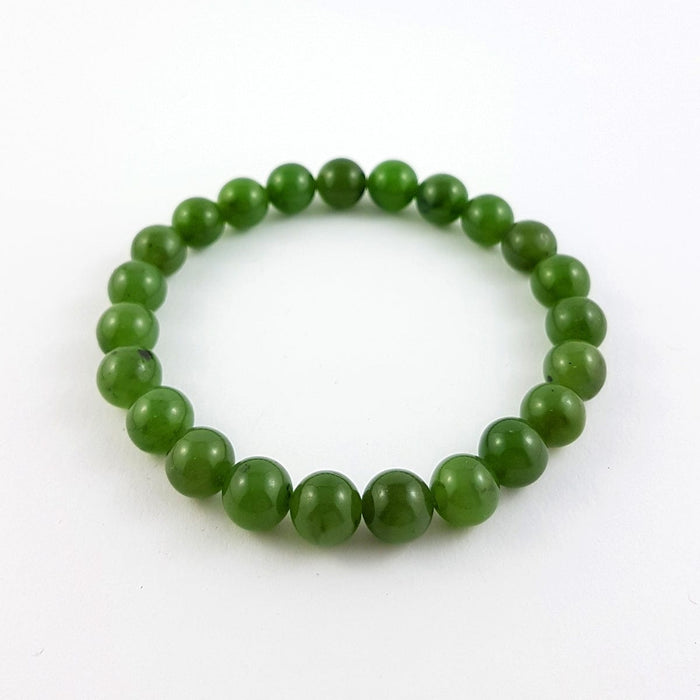 Jade Bracelet – 8mm Bead
