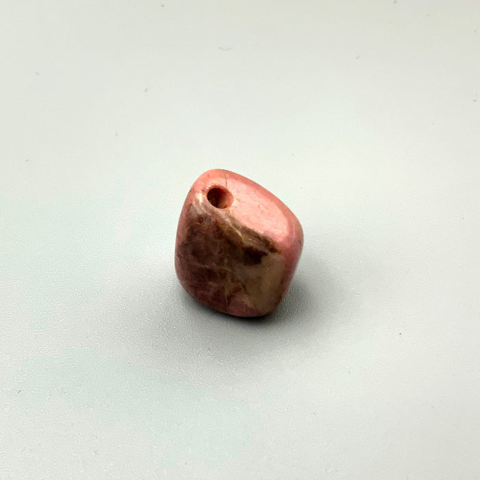 Rhodonite Nugget with Hole