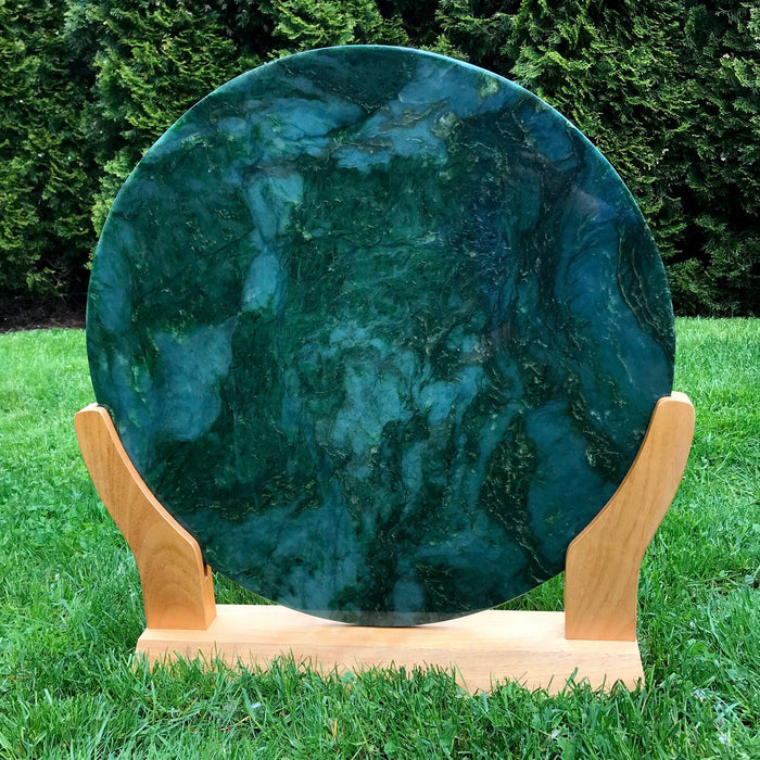 Jade Large Disk Carving