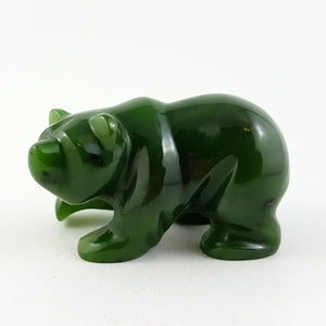 "Jade Bear - 2"" Walking Grizzly - The Jade Store"