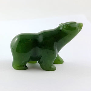 "Jade Polar Bear - 1.5"" - The Jade Store"