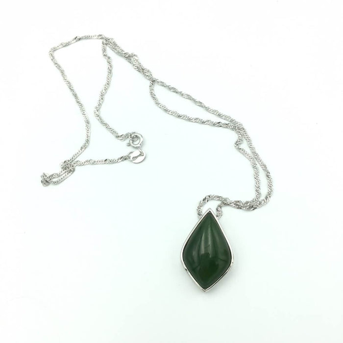 Jade Pendant - Diamond