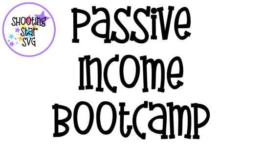 Passive Income Digital Design Bootcamp - Promoting Your Work
