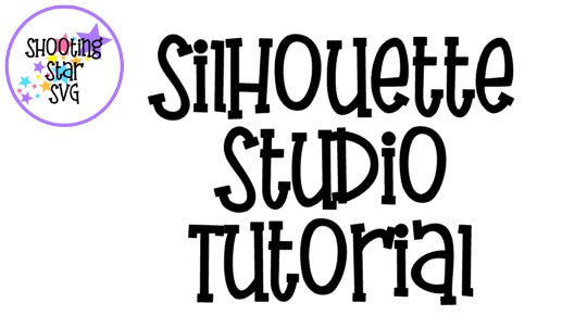 Silhouette Studio Tutorial - Create a Knockout