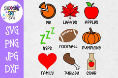 Fall Icons SVG