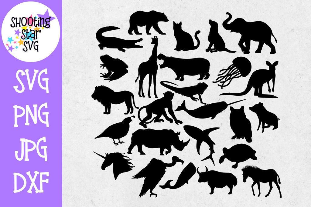 Animal Alphabet - Children's SVG