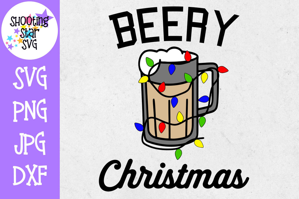 Beery Christmas SVG - Merry Christmas Adult - Christmas SVG