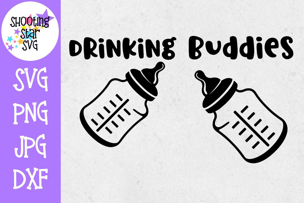 Drinking Buddies - Twin Bodysuit SVG