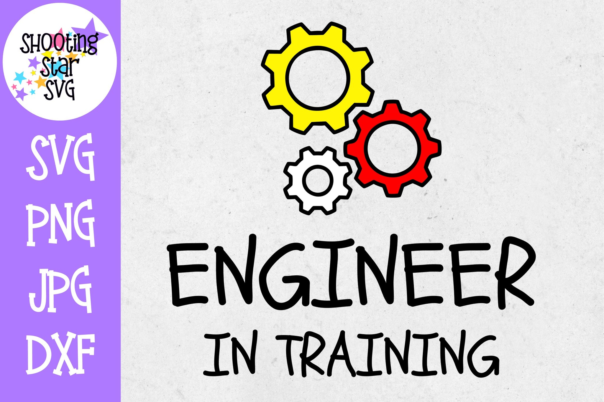 Engineer in Training SVG - First Day of School SVG