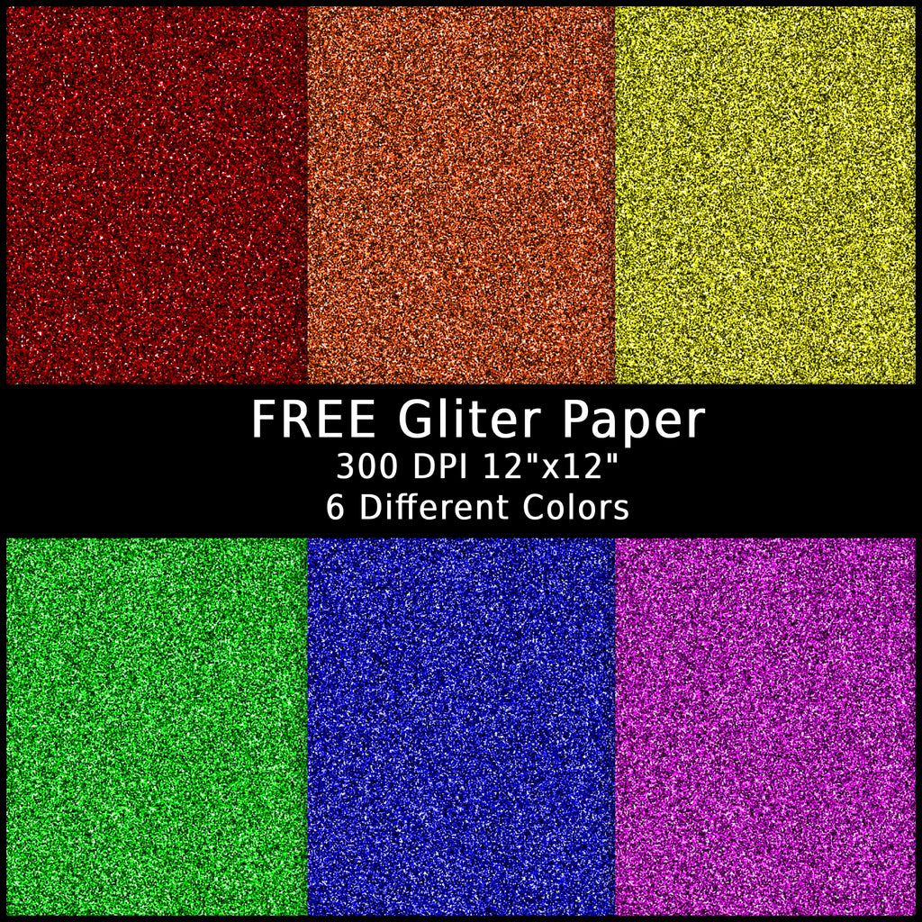 How to Make Digital Glitter for Free