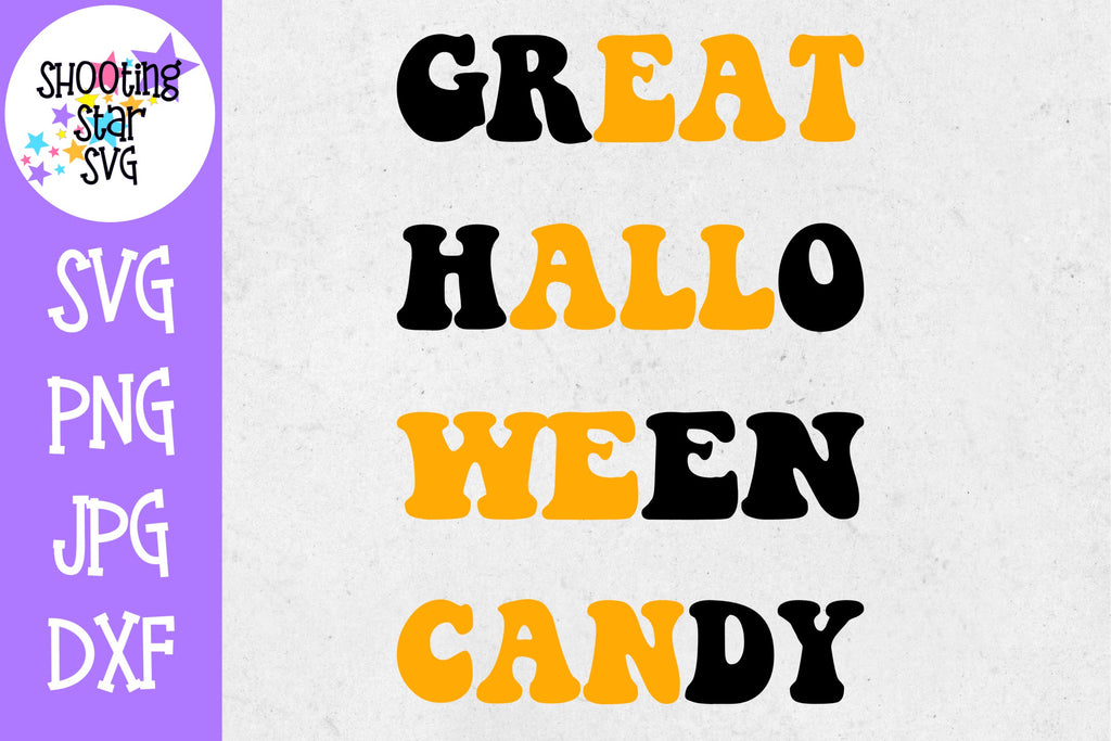 Great Halloween Candy SVG - Eat All We Can - Halloween SVG