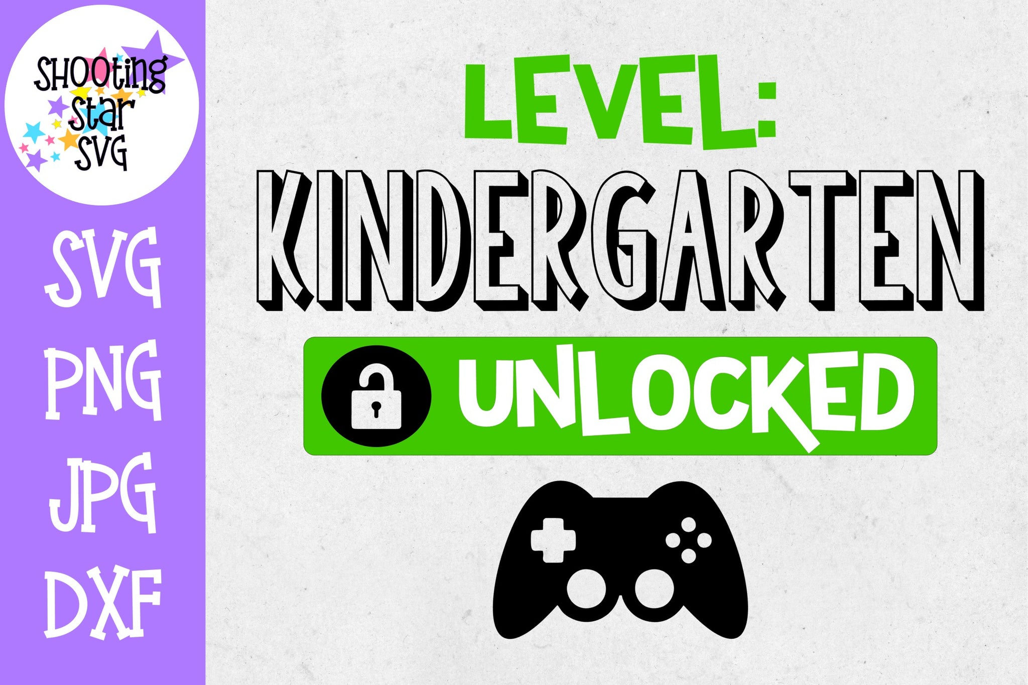 Kindergarten Unlocked - School Milestones SVG - Last Day of School SVG