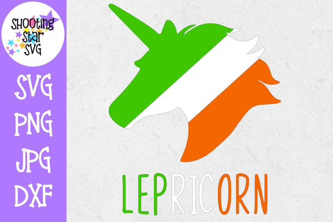 Lepricorn Irish Unicorn Leprechaun Unicorn - St. Patrick's Day SVG
