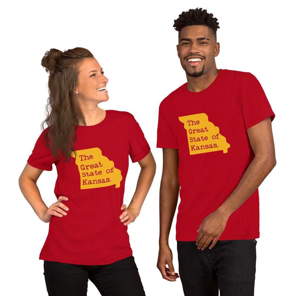 The Great State of Kansas Funny Trump T-Shirt