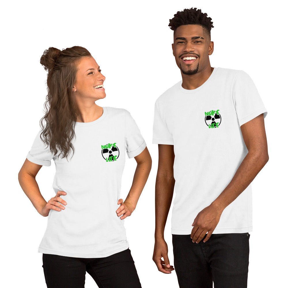 Nuke Life Pocket Short-Sleeve Unisex T-Shirt