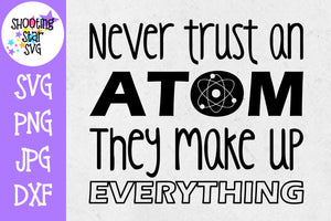 Never trust an atom - Science SVG