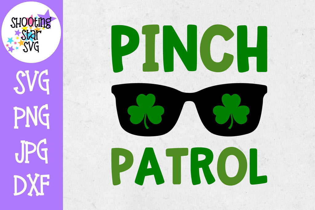 Pinch Patrol SVG - St. Patrick's Day SVG