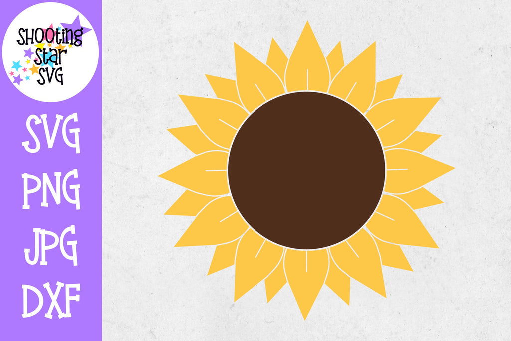 Sunflower SVG - Full Sunflower SVG