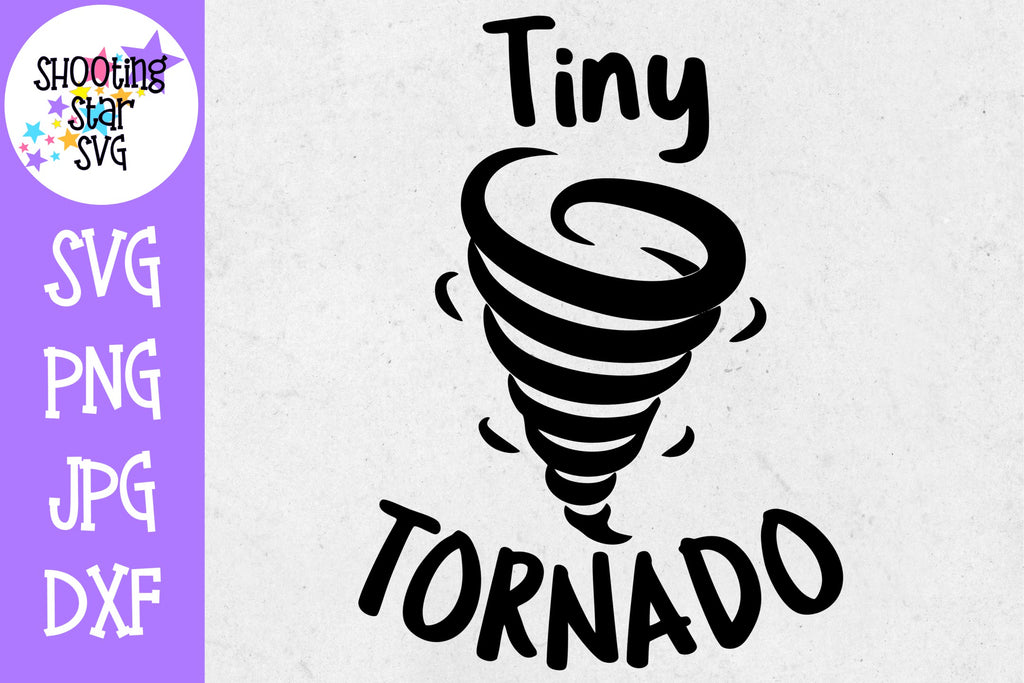 Tiny Tornado SVG - Children's SVG