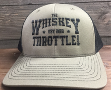 Load image into Gallery viewer, Loden/Black Whiskey Throttle Show Richardson - Adjustable Snapback Trucker Cap