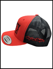 Load image into Gallery viewer, The Red/Black Whiskey Throttle Show Classic Snapback