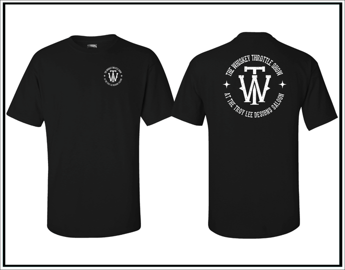 The Whiskey Throttle Show Circle Tee