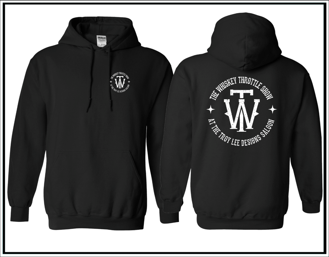The Whiskey Throttle Show Circle Hoodie