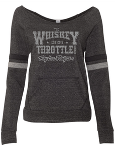 The Whiskey Throttle Logo Women's Eco-Fleece Sweatshirt