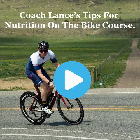 Lance Watson, triathlon hall of fame coach, gives some tips to Ironman, 70.3, Olympic and Sprint triathletes about nutrition on the bike course.