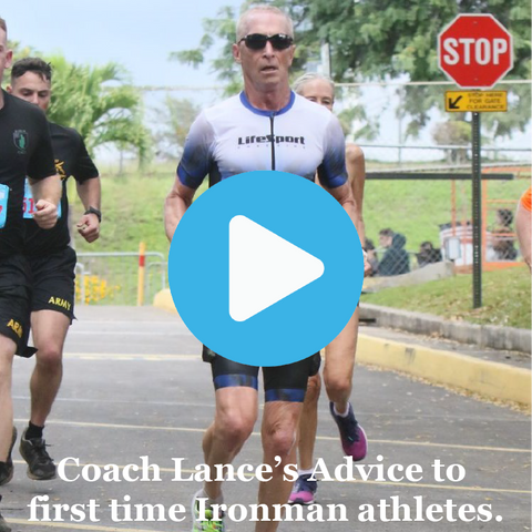 Lance Watson, triathlon hall of fame coach, talks to those Ironman, 70.3, Olympic and Sprint triathletes regarding first Ironman advice.