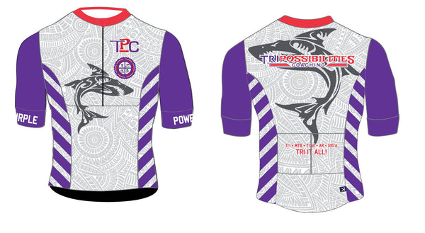2021 TriPossibilities Team TBH Short Sleeve Tri Top