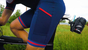The perfect Men's triathlon shorts for Ironman, 70.3, Olympic or sprint distance races.