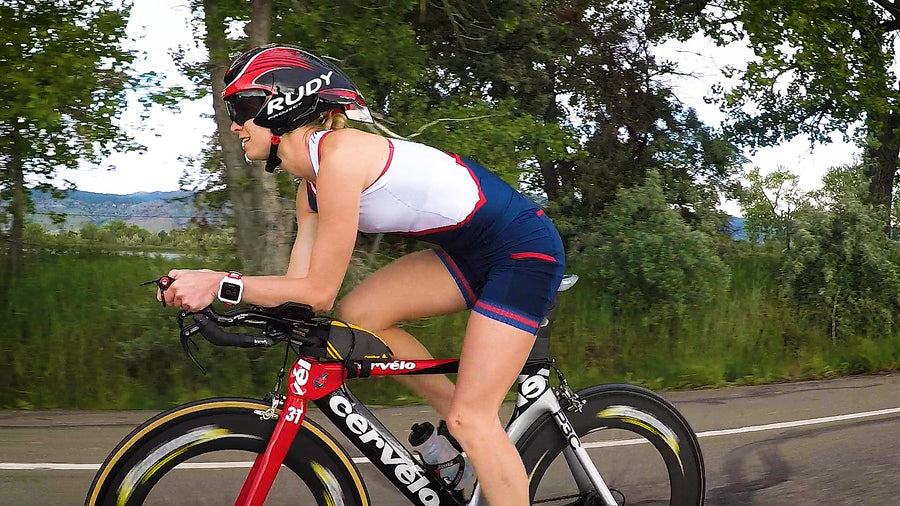 The perfect Women's triathlon shorts for Ironman, 70.3, Olympic or sprint distance races.