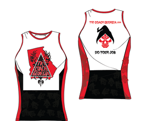 Tri Coach Georgia Men's Tri Top