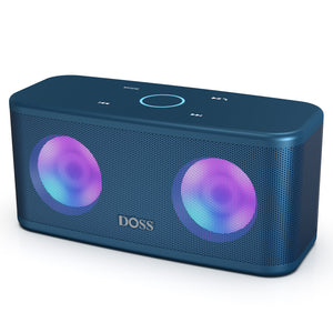 DOSS Bluetooth Speaker - Blue Doss SoundBox Pro+