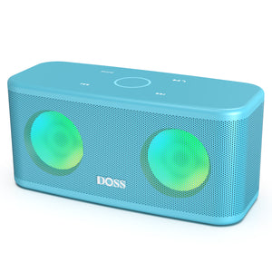 DOSS Bluetooth Speaker - Ice Blue Doss SoundBox Pro+