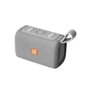 Grey DOSS EGO Waterproof Bluetooth Speaker