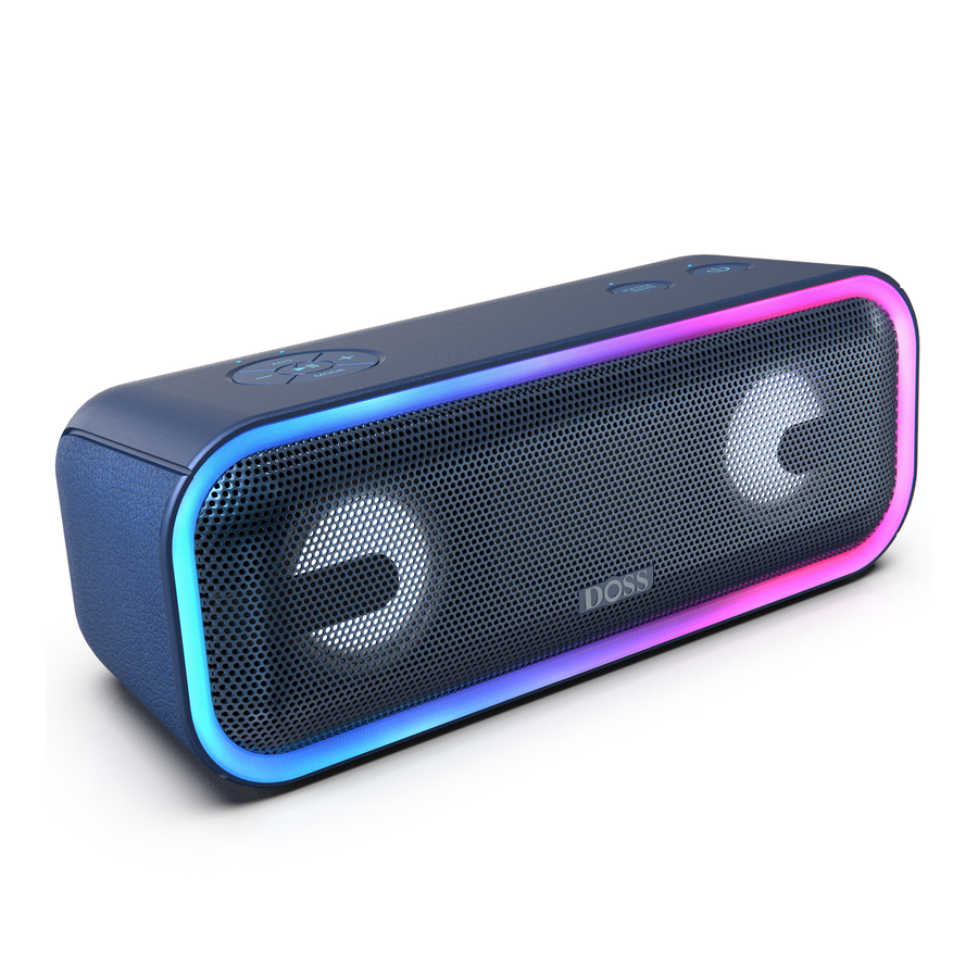 Black DOSS SoundBox Pro Plus - Bluetooth Speaker